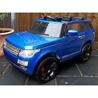 Детский электромобиль Range Rover 6628: 12V, 8км/ч, 2.4G - Синий-Покраска-купить оптом