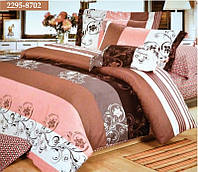 """Комплект постельного белья """"Viluta"""" ранфорс двухспальный (нестандарт) Вилюта № 2995-8702"""