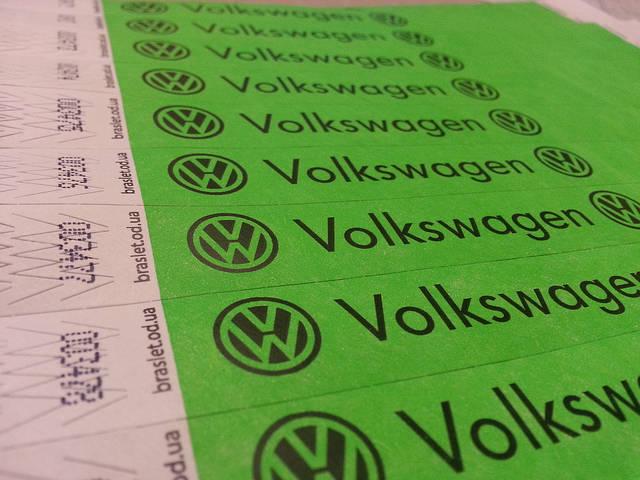 Контрольные браслеты на руку Tyvek 19mm Цвет: Салатовый неон, печать логотипа черным.