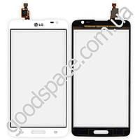 Тачскрин (сенсор) LG D680, D684 цвет белый