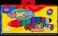 Полимерная глина 10 цветов Colorino 42741