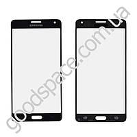 Стекло для Samsung  A700 Galaxy A7 , цвет черный