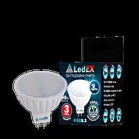Светодиодная лампа  Ledex 3W  MR16 4000К Premium