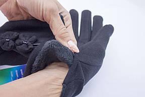 Женские стрейчевые перчатки, фото 2