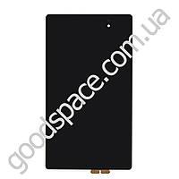 Дисплей Asus Google Nexus 7 (ME571K) ревизия 2 (2013) с тачскрином в сборе, цвет черный