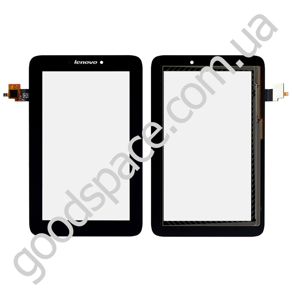 Тачскрин (сенсор) Lenovo A2107 IdeaTab A2207, цвет черный, высокое качество