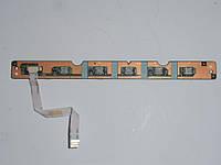 Шлейф, плата кнопок питания led TOSHIBA L500 L505