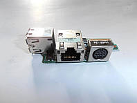 Плата USB, S-VIDEO, LAN DELL LATITUDE D610