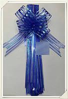 Бант на ручки авто (синий)