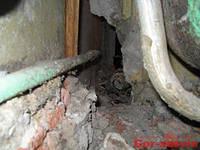 Демонтаж труб водопровода,канализации и отопления