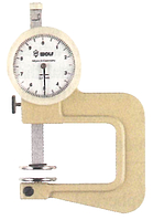 Толщиномер индикаторный ТР 0-10 мм, глубина 20 мм, цена деления 0.1 мм, IDF(Италия)