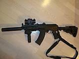 Тактический оружейный 1-2 точечный ремень Magpul MS3 МОЕ (США) - ЧЁРНЫЙ, фото 6