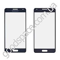 Стекло для Samsung G850F Galaxy Alpha, цвет черный