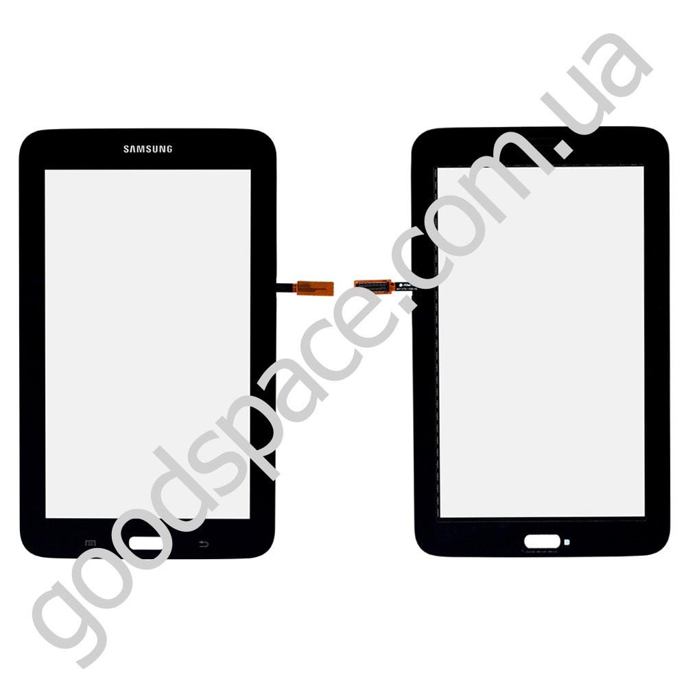 Тачскрин (сенсор) Samsung Tab 3 7.0 Lite T110, цвет черный, оригинал