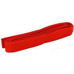 Пояс для кимоно Champion красный UR CO-4077-2,6 (х/б, PL, р.260см)