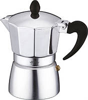 Гейзерная кофеварка, 540 мл; 6чашек