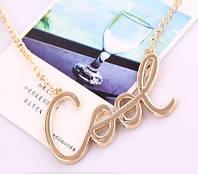 Ожерелье COOL/бижутерия/цвет цепочки золото