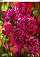 Схема для вышивки бисером Чайные розы