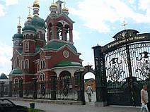 Ворота на храм в честь Святых Апостолов Петра и Павла в г. Тальное (Черкасская обл.) 6