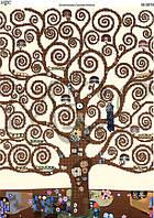 Схема для вышивки бисером Дерево. Климт