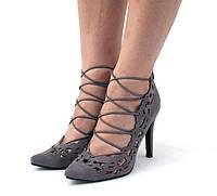 Туфли серого цвета