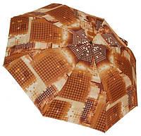 Модный женский зонт Пикскль 0579 brown