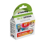 Картридж струйный совместимый Canon CL-41 ColorWay(CW-CCL41)