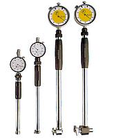 Нутромер НИ 6-10 мм, индикаторный,  глубина 40 мм, цена деления 0.01 мм, IDF(Италия)