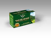 Чай зелений  20 пак (Наш Чай) м.Львів