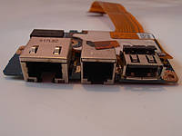 Плата, шлейф USB LAN TOSHIBA Satellite U400 U405