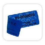 Нанесение маркировки сквозной нумерации на одноразовой пломбе-наклейке