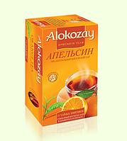 Alokozay чай черный с апельсином пакетированный 25 х 2г