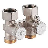Проходной регулировочный клапан для 2-трубных систем (бинокль) Giacomini R383X002
