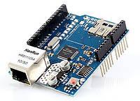 Плата расширения Arduino Ethernet Shield W5100