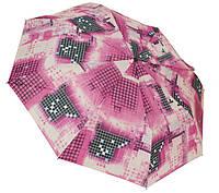 Модный женский зонт Пиксель 0579 pink