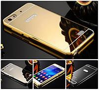 Чехол бампер для Huawei Honor 4C / G Play mini зеркальный
