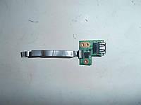 Шлейф, разъем USB HP G62