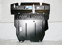 Защита картера двигателя и кпп Mitsubishi Lancer IX 2003-2007