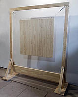 Стенд деревянный