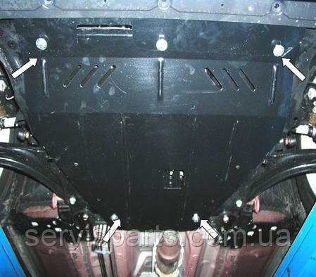 Защита двигателя Nissan X-Trail 2007- (Ниссан Икс Трейл Т31), фото 2
