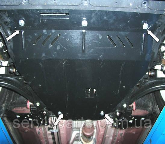 Защита двигателя Nissan X-Trail 2007- (Ниссан Икс Трейл Т31)