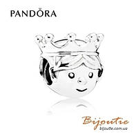 Pandora Шарм МАЛЕНЬКИЙ ПРИНЦ #791959CZ серебро 925 Пандора оригинал