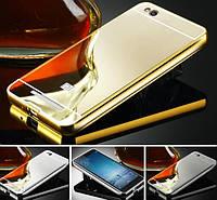 Чехол бампер для Xiaomi Mi4i / Mi4C X9 зеркальный
