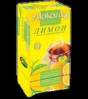 Чай черный с лимоном пакетированный Alokozay  25 х 2г