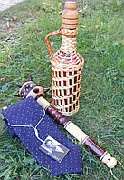 Бутылка 1 л булава и галстук подарок для мужчины