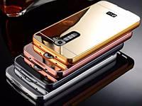 Чехол бампер для LG Magna Dual Y90 H502 / LG G4 mini зеркальный