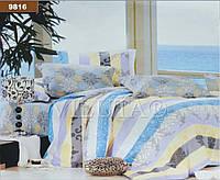 """Комплект постельного белья """"Viluta"""" ранфорс № 6 Евро Вилюта № 9816"""