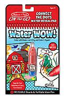 """Волшебная водная раскраска по точкам """"Ферма"""", Melissa&Doug"""