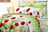"""Комплект постельного белья """"Viluta"""" ранфорс № 6 Евро Вилюта № 9818"""