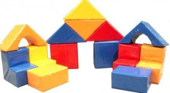"""Мякгая модульная мебель """"Детский домик"""""""
